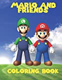 Mario and Friends Coloring Book: A great fun coloring book for kids aged 3+. An A4 40 page book with scenes of Mario, Wario, Luigi and yoshi. So what ... kids, go grab them pencils and start coloring