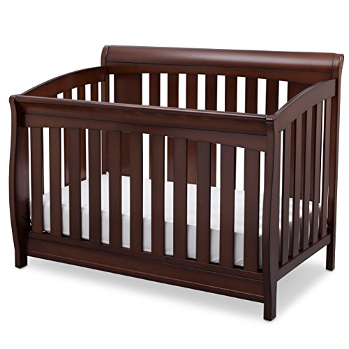 Delta Children Clermont 4-in-1 Convertible Baby Crib, Chocolate Review