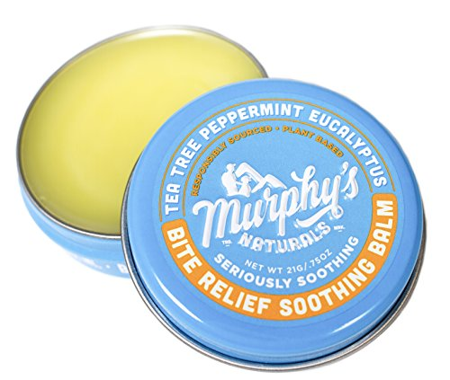 Murphy's Naturals Insect Bite Relief Soothing Balm | Plant-based After Bite Balm Ingredients Include Chamomile, Cocoa Butter, Tea Tree Oil, and Beeswax | Travel Size (Mosquito Bites Natural)