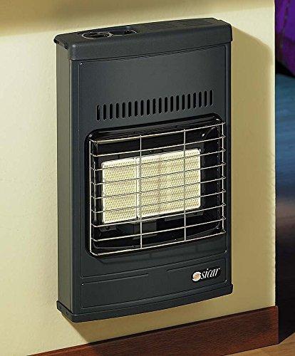 Eco 40 Estufa radios Sicar infrarrojos a gas GLP Potencia 4200 W MOD de pared o Pies de apoyo marca Sicar Color Gris: Amazon.es: Hogar