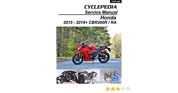 CPP-131-P Honda CN250 HELIX Cyclepedia Scooter Printed Service ... on