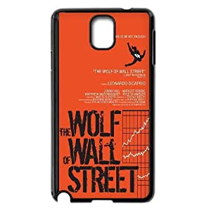 Samsung Galaxy Note 3 Case Black Wolf Of Wall Street Cell Phone Case Cover U6Q9IO