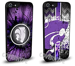 Kansas State Wildcats Cell Phone Hard Plastic Case TWO PACK for iPhone 6 4.7