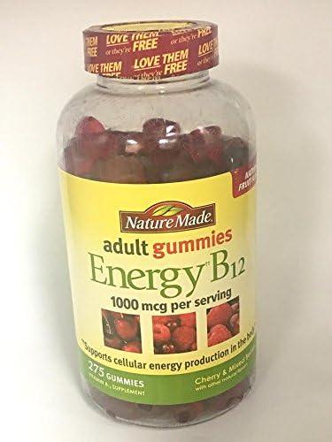 Nature Made B12 Energy Gummies 1000 Mg, 275 Ct