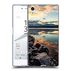 Super Galaxy Coque de Protection TPU Silicone Case pour // F00003367 california color colorido niebla // Sony Xperia Z5