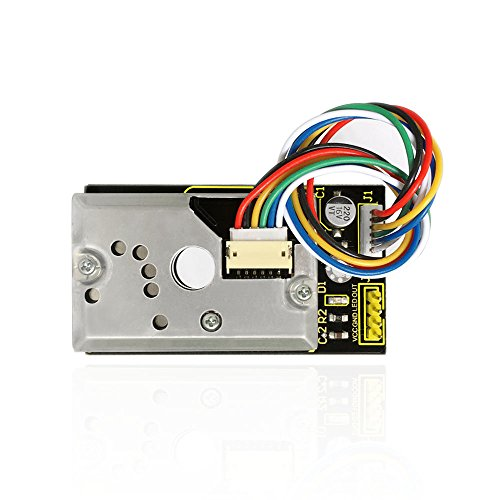 KEYESTUDIO Pm2.5 Sensor for Arduino Pm2.5 Air Particle Monitor for Arduino Mega 2560 Arduino Uno R3 Nano Micro Pro Mini Raspberry Pi by KEYESTUDIO (Image #1)