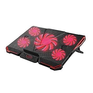 honsdom – Base de refrigeración para ordenador portátil Gaming portátil externo de ventilador de refrigeración pad