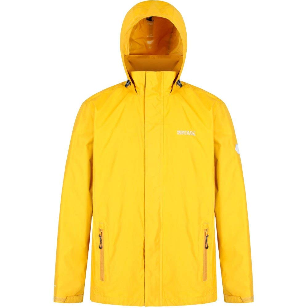 992cab18ad2 Regatta Men s Matt Waterproof Lined Hooded Jacket  Amazon.co.uk  Sports    Outdoors