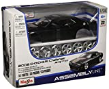 1 24 dodge die cast - Maisto 1:24 Scale Assembly Line 2008 Dodge Challenger SRT8 Diecast Model Kit (Colors May Vary)