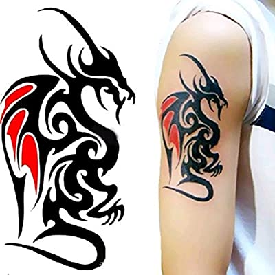 lihaohao Impermeable Etiqueta Engomada del Tatuaje Temporal De ...