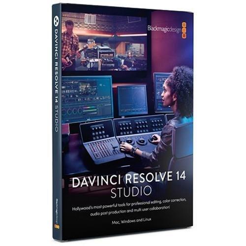 Blackmagic Design DaVinci Resolve Studio for Mac/Win/Linux (BMD-DV/RESSTUD) from Blackmagic Design