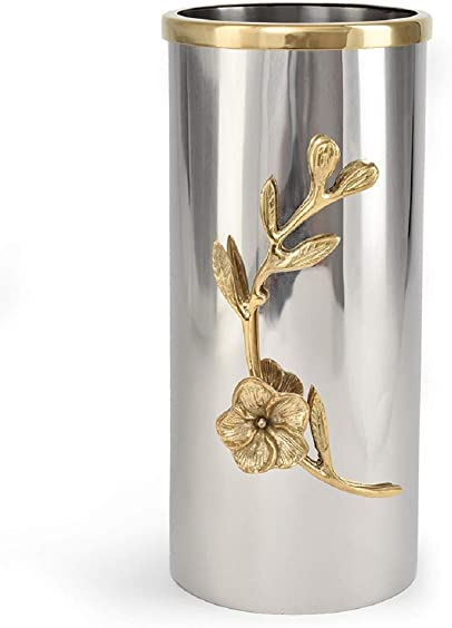 Serene Spaces Living Orchid Stem Tall Vase