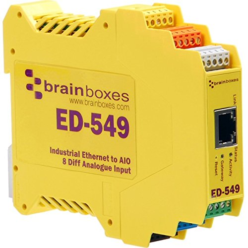 Brainboxes Ethernet to Analogue 8 Inputs