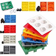 Star Wars Silicone Ice Tray Set Of 7 - The Complete Ice Saga