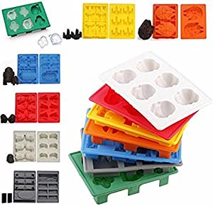 Set of 7 Star Wars Silicone Ice Cube Trays