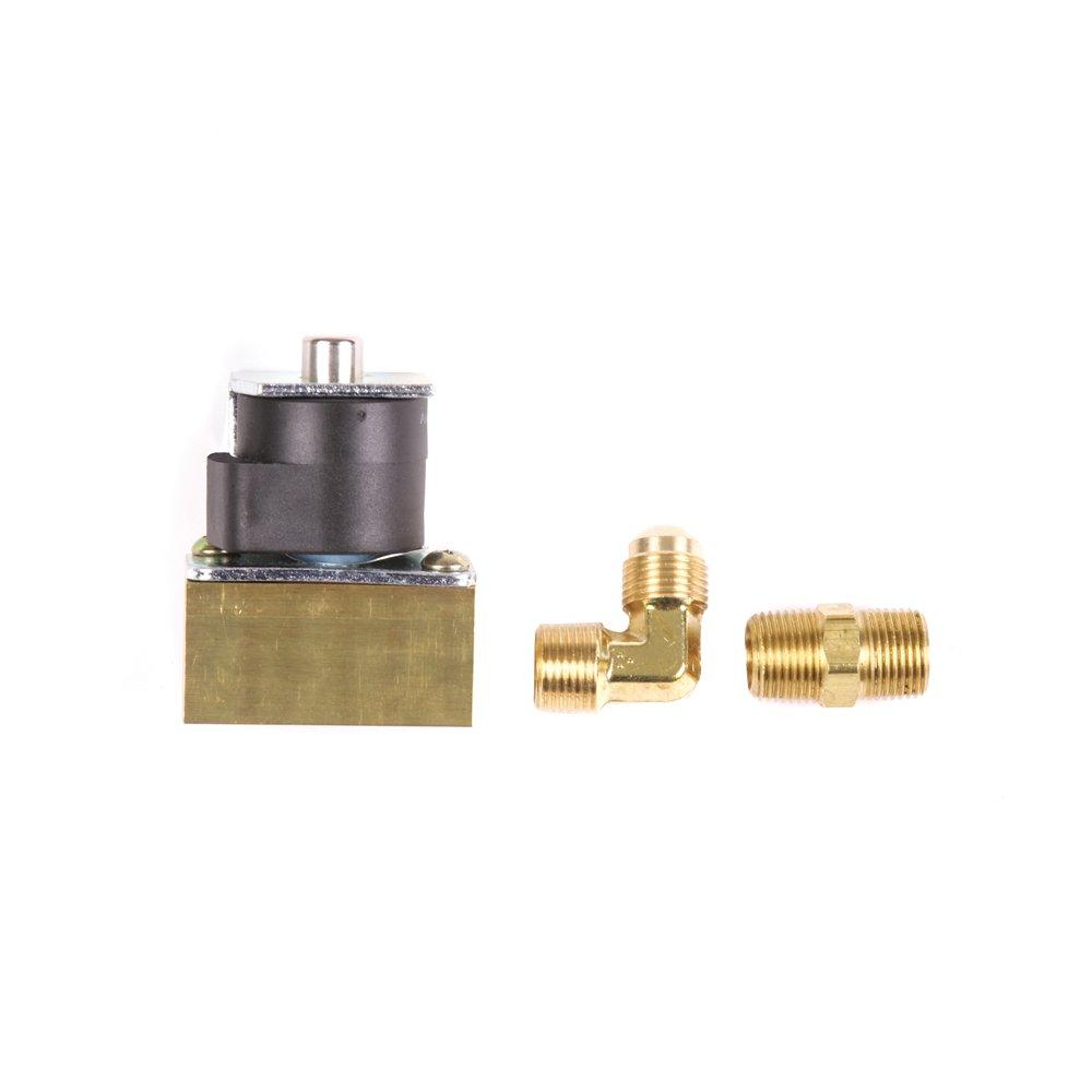 Trident Marine 1300-7706.2-Kit Low Pressure L.P. Gas 12V DC Solenoid Valve, 3/8'' FPT Ports