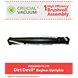 Dirt Devil Style Brushroll; Fits Ultra Swivel Glide, Jaguar, Scorpion, & Breeze Uprights; Compare to Dirt Devil Part No. 2881020000; Designed & Engineered by Think Crucial