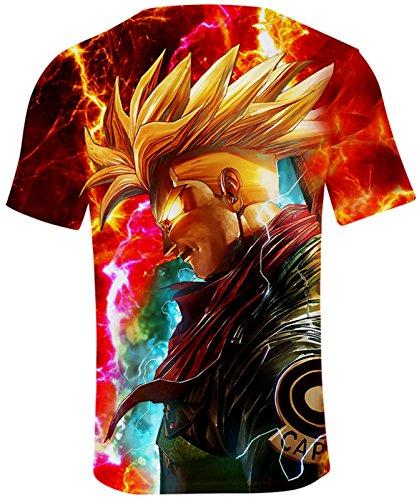 Top Dragon Ball Japonais Et D'été Manga Pour T Enfant shirt 746 Seraphy Son Goku Adult Unisexe x0qHgqwnp