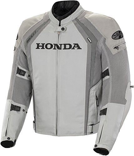 Joe Rocket Honda VFR Mens' Textile/Mesh Motorcycle Jacket - Silver - 2XL
