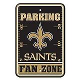 NFL New Orleans Saints Plastic Parking Signs