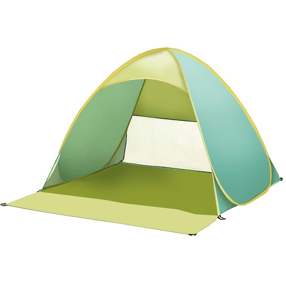 iCorer Automatic Pop Up Instant Portable Outdoors Quick Cabana Beach Tent (Green) by iCorer