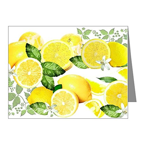 CafePress - Acid Lemon From Calabria Note Cards (Pk Of 20) - Blank Note Cards (Pack of 20) Matte