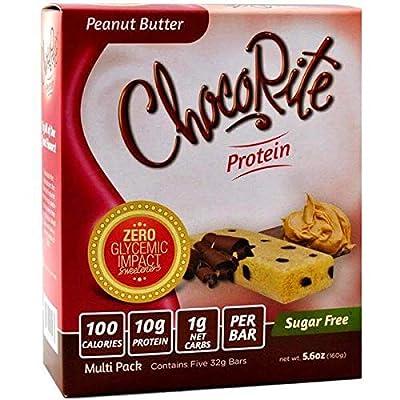 ChocoRite - Peanut Butter Protein Bars by ChocoRite