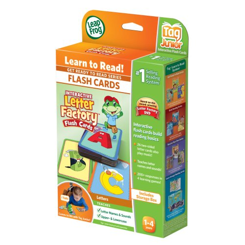 LeapFrog LeapReader Junior Interactive Letter Factory Flash Cards (works with Tag Junior) by LeapFrog (Image #3)