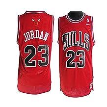 Jordan Men's #23 Red 1996-97 Hardwood Classics Jersey