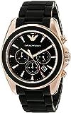 Emporio Armani Men's AR6066 Sport Black Silicone Watch
