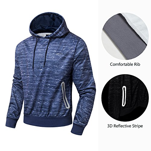 AIRAVATA Men's Tracksuit Pullover Hoodies Jacket Jogger Pants Running Jogging Suit