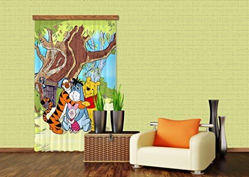AG Design fCC l/4110 Rideau Voilage pour Chambre d\'enfant Motif ...