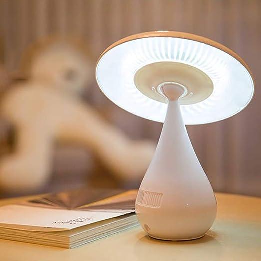 DZLXY Purificador de Aire con luz de Lectura para niños, lámpara de Escritorio con protección para los Ojos con luz de Lectura táctil Carga USB,Blanco: Amazon.es: Hogar