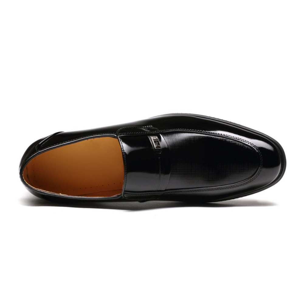 GTYMFH Herrenschuhe Lackleder Business Abendkleidung Schuhe Herren Lackleder Herrenschuhe Füße Hochzeitsschuhe schwarz e45ff6