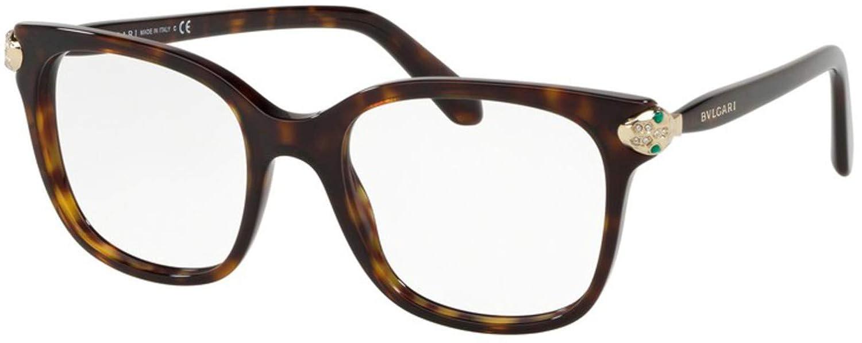 Eyeglasses Bvlgari BV 4158 B 504 DARK HAVANA