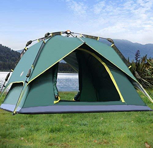 JIE Guo Outdoor-Produkte im Freien 3-4 Personen automatische Zelte, Wild, Camping, Strand Zelte, Oxford Tuch Regen, Sonnencreme, Home Portable Zelte