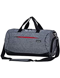 ec2b38d682 Sports Gym Bag with Shoes Compartment Travel Duffel Bag for Men and Women