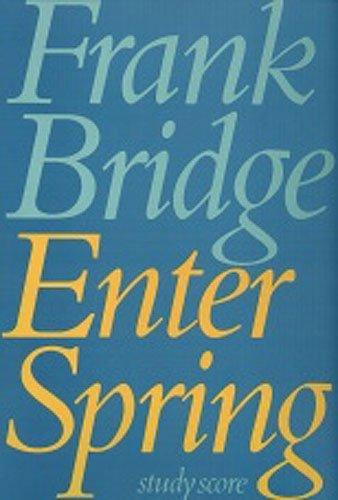 Enter Spring: Full Score (Faber Edition)