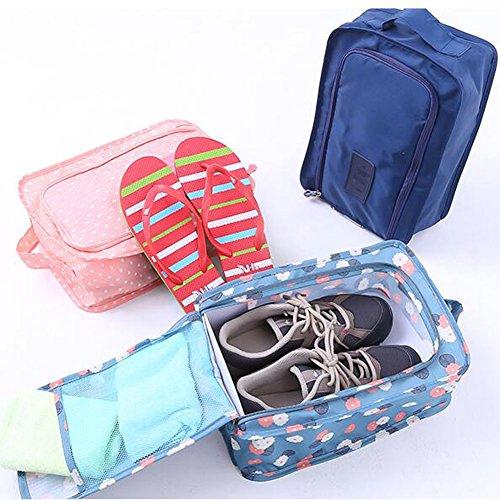 Praktische Schuhbeutel-Schuhe Organisator-Halter-Schuh-Aufbewahrungsbeutel für Spielraum, Grau