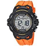 Armitron Sport Men's Quartz Resin Fitness Watch, Color:Orange (Model: 40/8388ORG)