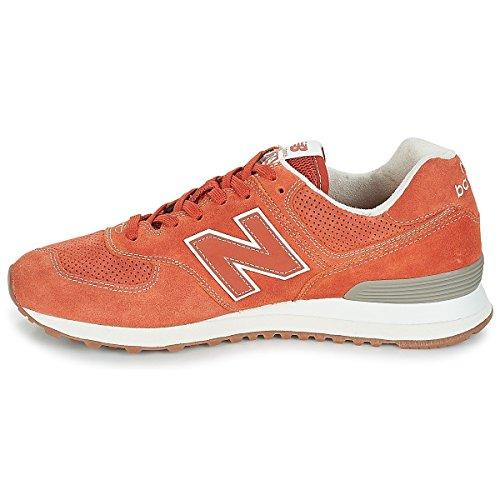 New Orange Vintage ESH Balance 574 ML Orange Russet xrT04xgwq