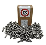 #12 X 3/4 Stainless 18-8 Phillips Pan Head