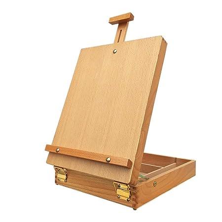 Caja de Dibujo para Mesa de Caballete y Mesa de Madera de Haya de ...