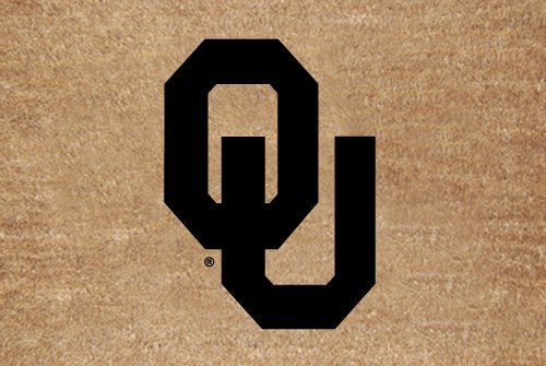 Oklahoma Flocked Door Mat - Collegiate Coir Mat