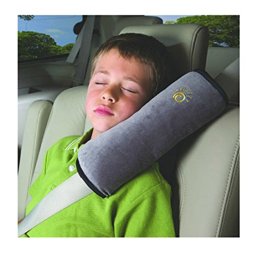 Iuhan Fashion Baby Children Safety Strap Car Seat Belts Pillow Shoulder Protection (Gray)