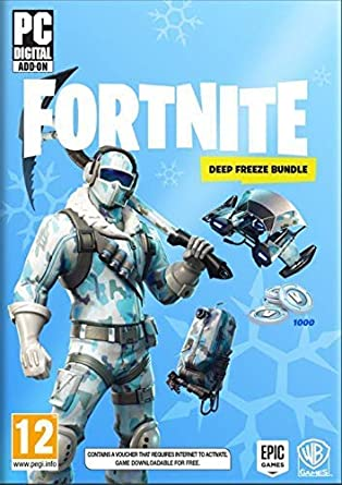 fortnite deep freeze bundle pc amazon in video games fortnite deep freeze bundle pc