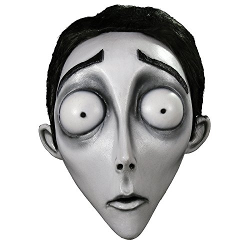 Trick or Treat Studios Men's Corpse Bride-Victor Mask, Multi, One Size -