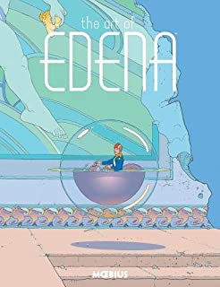 Book Cover: Moebius Library: The Art of Edena