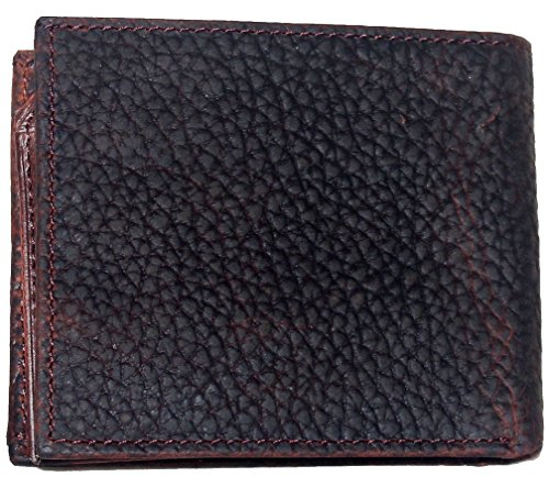 Wallet Hair fold Bi and Brown on Crescent Hide Shriner Scimitar Custom nx7Y0x