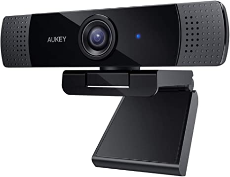 AUKEY Webcam 1080P Full HD with Stereo Microphone Web: Amazon.de: Elektronik
